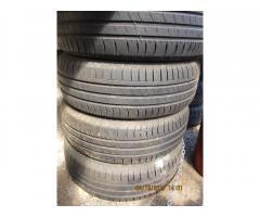Starší pneu 195/65/15    4ks za 1200,-kč