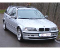 BMW 320D Touring,M-packet,orig.km,serviska+CEBIA,aut.klima